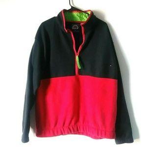 5/$15 Glacier Vintage L 1/4 Zip Fleece Sweat Shirt